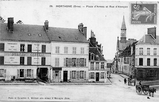 Mortagne Au Perche Plan De La Ville